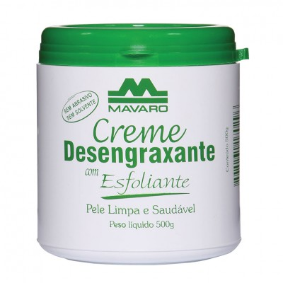 Creme Desengraxante com Esfoliante - MAVARO