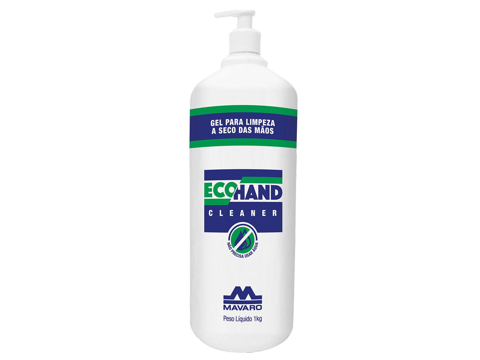 ECO HAND Cleaner - GEL para limpeza a seco das mãos.