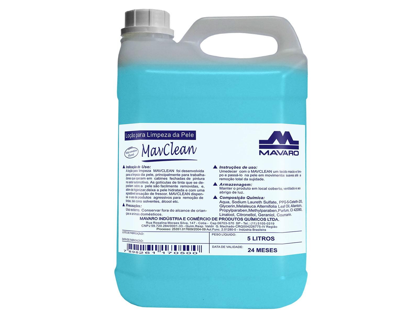Loção profissional para limpeza, higienização e hidratação.