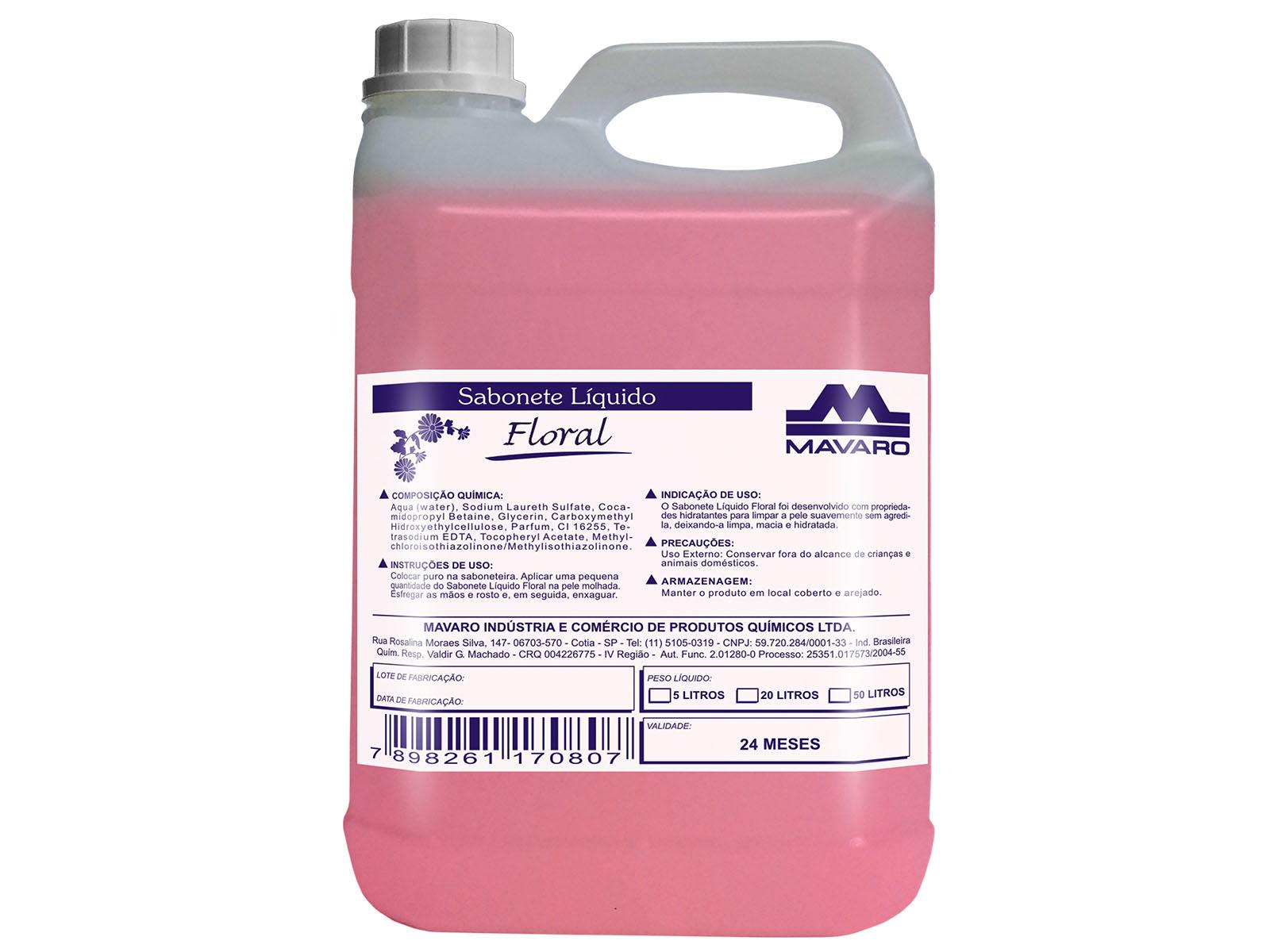 Sabonete líquido - Floral
